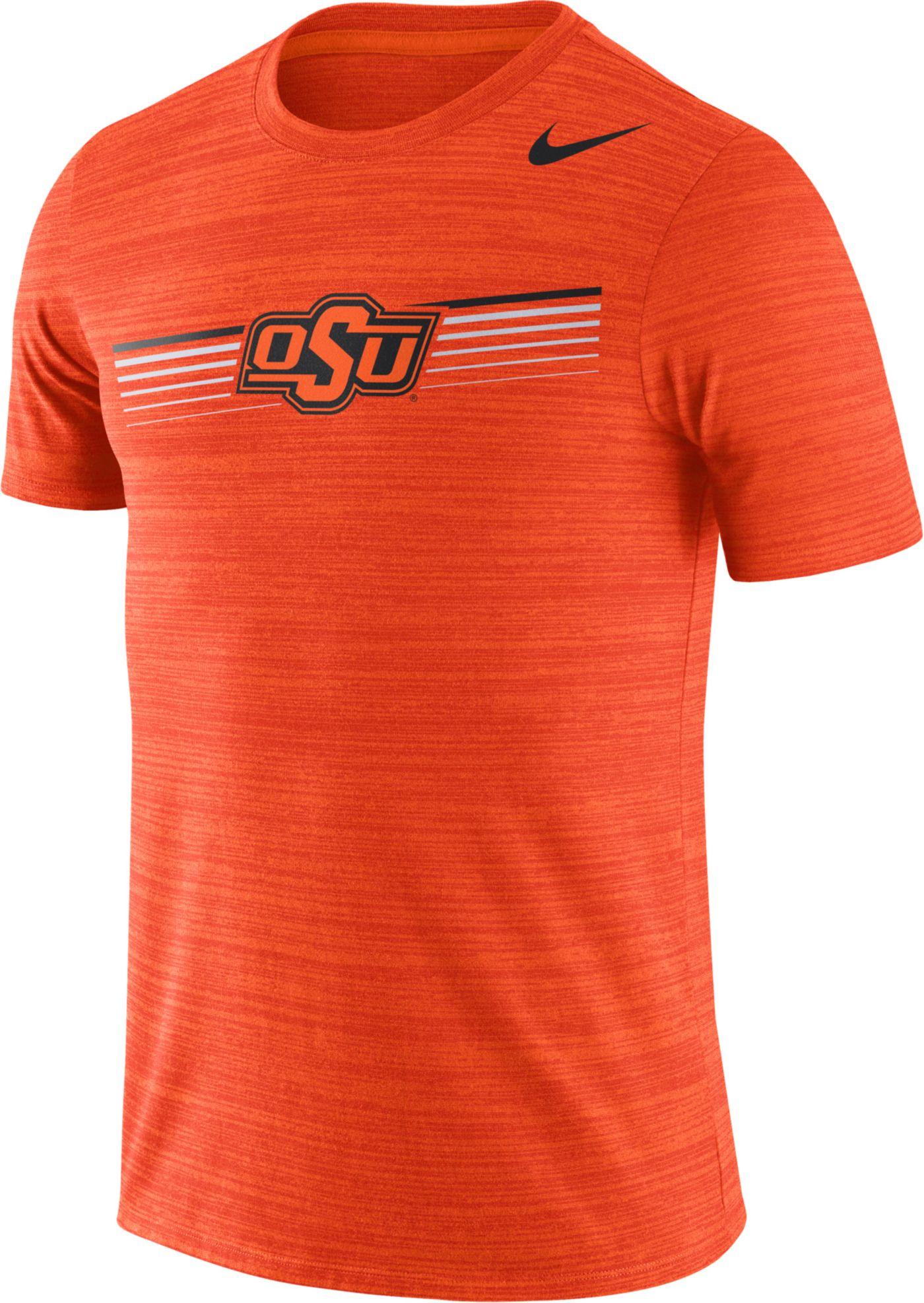 Nike Men's Oklahoma State Cowboys Orange Velocity Legend Graphic T-Shirt