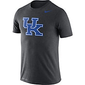 Nike Men's Kentucky Wildcats Grey Logo Dry Legend T-Shirt