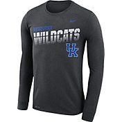 Nike Men's Kentucky Wildcats Grey Legend Football Sideline Long Sleeve T-Shirt
