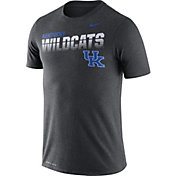 Nike Men's Kentucky Wildcats Grey Legend Football Sideline T-Shirt