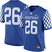 Nike Men's Kentucky Wildcats #26 Blue Game Football Jersey