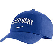 Nike Men's Kentucky Wildcats Blue Heritage86 Arch Wordmark Hat