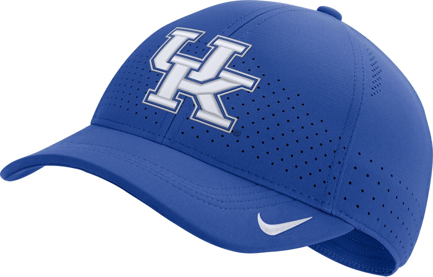 Nike Men's Kentucky Wildcats Blue Aerobill Classic99 Football Sideline Hat