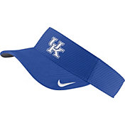 Nike Men's Kentucky Wildcats Blue AeroBill Football Sideline Visor