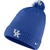 Nike Men's Kentucky Wildcats Blue Football Sideline Pom Beanie