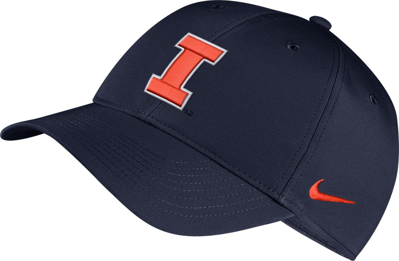 Nike Men's Illinois Fighting Illini Blue Legacy91 Adjustable Hat