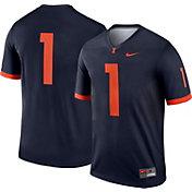 Nike Men's Illinois Fighting Illini #1 Blue Dri-FIT Legend Football Jersey