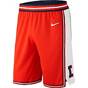 Nike Men's Illinois Fighting Illini Orange Replica Basketball Shorts