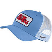 Nike Men's Ole Miss Rebels Blue Retro Classic99 Trucker Hat