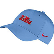 Nike Men's Ole Miss Rebels Blue Legacy91 Adjustable Hat