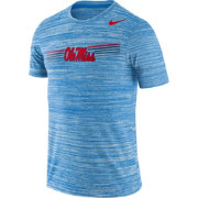 Nike Men's Ole Miss Rebels Blue Velocity Legend Graphic T-Shirt