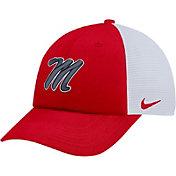 Nike Men's Ole Miss Rebels Red Heritage86 Adjustable Trucker Hat