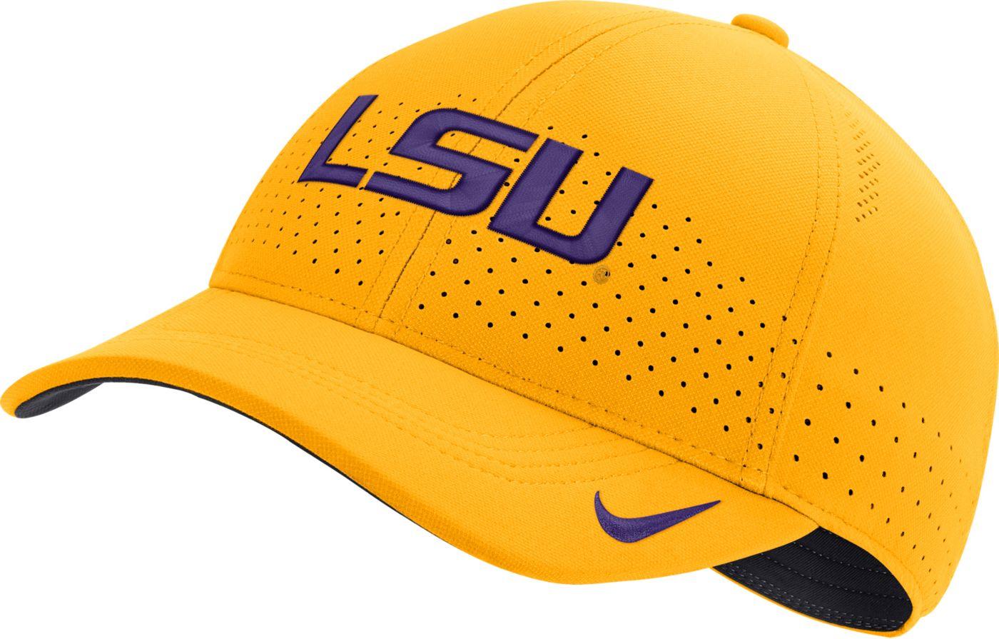 Nike Men's LSU Tigers Gold Legacy91 Adjustable Hat