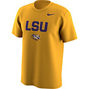 Nike Men's LSU Tigers Gold Lockup T-Shirt