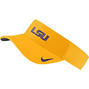 Nike Men's LSU Tigers Gold AeroBill Football Sideline Visor