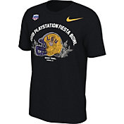 Nike Men's LSU Tigers 2019 PlayStation Fiesta Bowl Bound Helmet T-Shirt