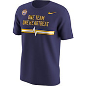 Nike Men's LSU Tigers Purple Mantra T-Shirt