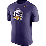 Nike Men's LSU Tigers Purple 125 Seasons Legend Football T-Shirt