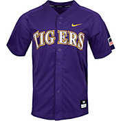 Nike Men's LSU Tigers Purple Dri-FIT Replica Baseball Jersey