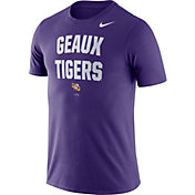 Nike Men's LSU Tigers Purple Dri-FIT Phrase T-Shirt