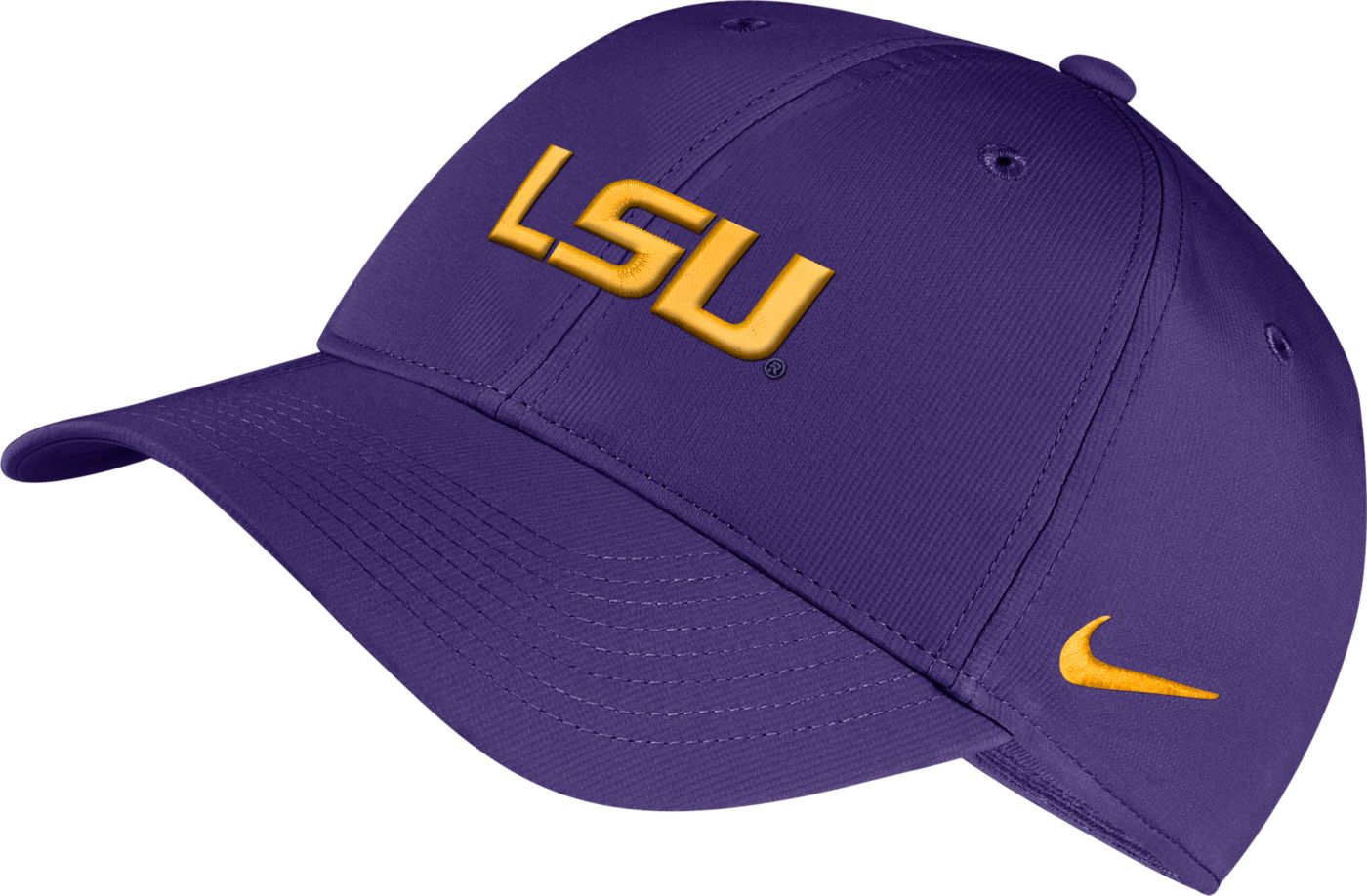 Nike Men's LSU Tigers Purple Legacy91 Adjustable Hat