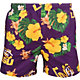 FOCO Men's LSU Tigers Purple Floral Shorts
