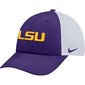 Nike Men's LSU Tigers Purple Heritage86 Adjustable Trucker Hat