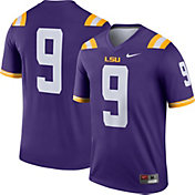 Nike Men's LSU Tigers #9 Purple Dri-FIT Legend Football Jersey