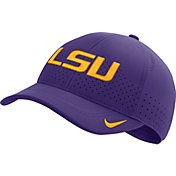 Nike Men's LSU Tigers Purple Aerobill Classic99 Football Sideline Hat