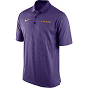 Nike Men's LSU Tigers Purple Stadium Performance Football Polo