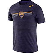 Nike Men's LSU Tigers Purple Velocity Legend Graphic T-Shirt