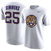 Nike Men's LSU Tigers Ben Simmons #25 White Future Star Basketball Jersey T-Shirt
