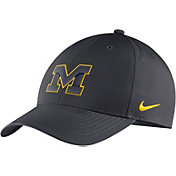 Nike Men's Michigan Wolverines Anthracite Legacy91 Adjustable Hat