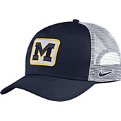 Nike Men's Michigan Wolverines Blue Classic99 Trucker Hat