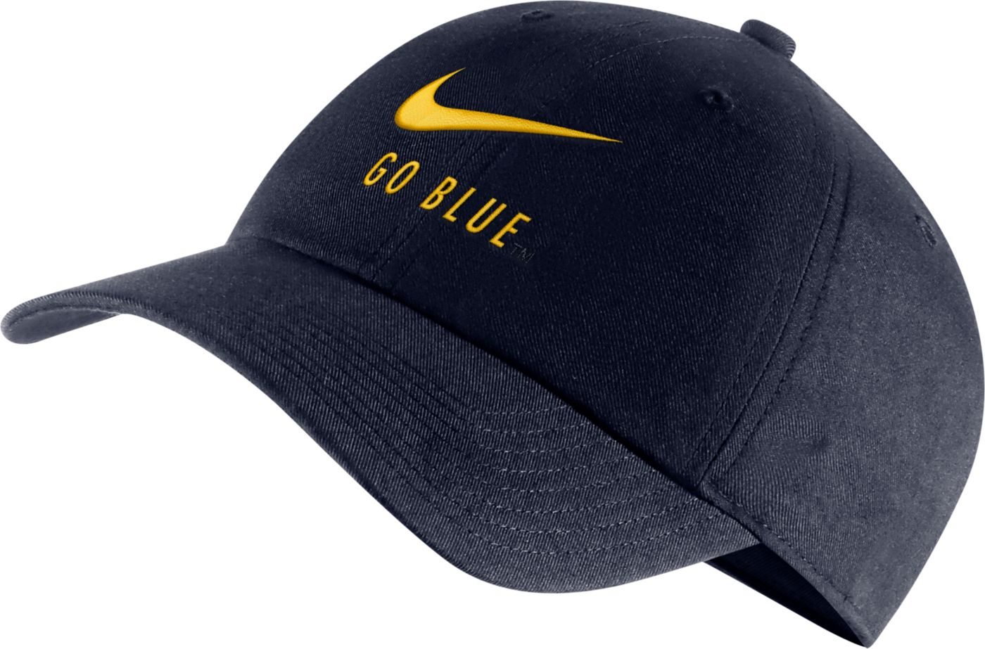 Nike Men's Michigan Wolverines Blue Heritage86 Adjustable Hat