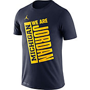 Michigan Jordan Gear >> Jordan Michigan Wolverines Men S Apparel Best Price