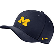 Nike Men's Michigan Wolverines Blue Classic99 Swoosh Flex Hat