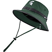 Nike Men's Michigan State Spartans Green Dri-FIT Sideline Bucket Hat