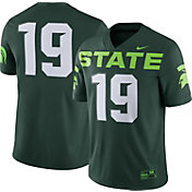 Nike Men's Michigan State Spartans #19 Green Dri-FIT Game Football Jersey