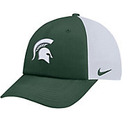 Nike Men's Michigan State Spartans Green Heritage86 Adjustable Trucker Hat