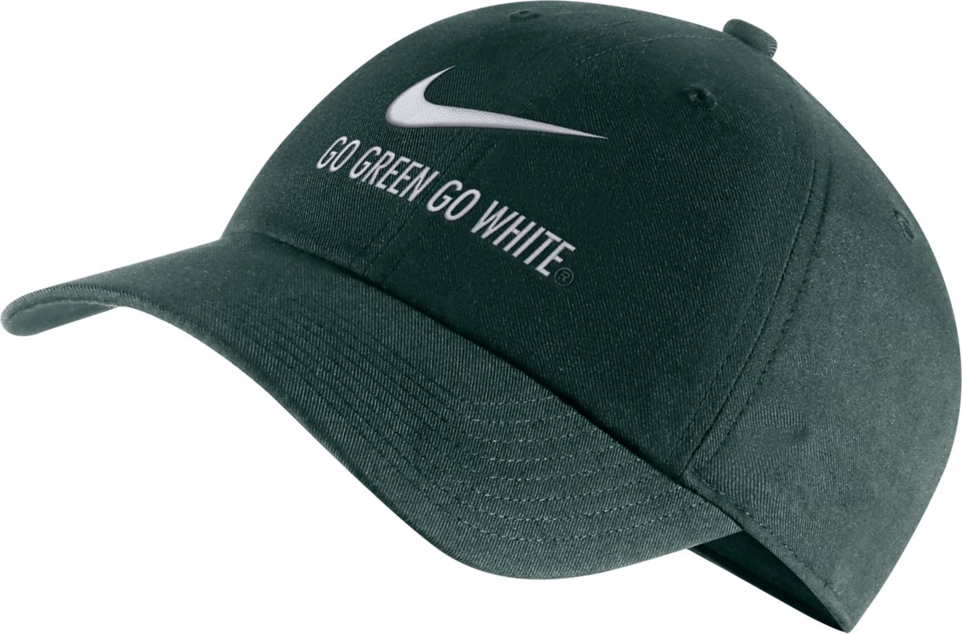 Nike Men's Michigan State Spartans Green Heritage86 Adjustable Hat