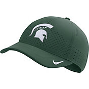 Nike Men's Michigan State Spartans Blue Aerobill Classic99 Football Sideline Hat