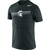 Nike Men's Michigan State Spartans Green Velocity Legend Graphic T-Shirt