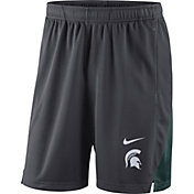 Nike Men's Michigan State Spartans Grey Franchise Shorts