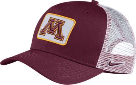 best website d5b73 44953 Nike Men  39 s Minnesota Golden Gophers Maroon Classic99 Trucker Hat
