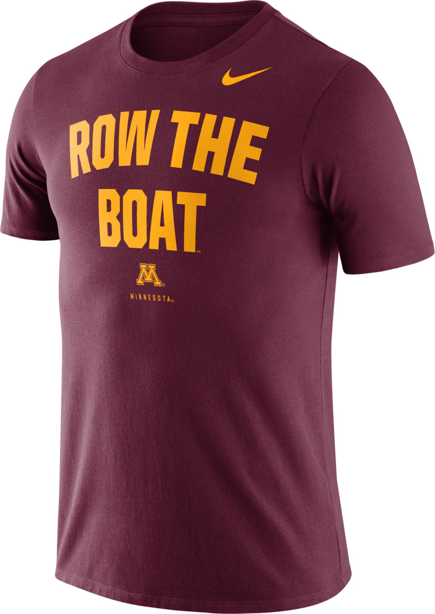Nike Men's Minnesota Golden Gophers Maroon Dri-FIT Phrase T-Shirt