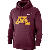 Nike Men's Minnesota Golden Gophers Maroon Club Fleece Pullover Hoodie