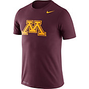 Nike Men's Minnesota Golden Gophers Maroon Logo Dry Legend T-Shirt