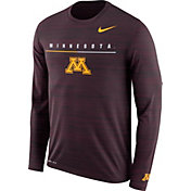 Nike Men's Minnesota Golden Gophers Maroon Velocity Legend Graphic Long Sleeve T-Shirt