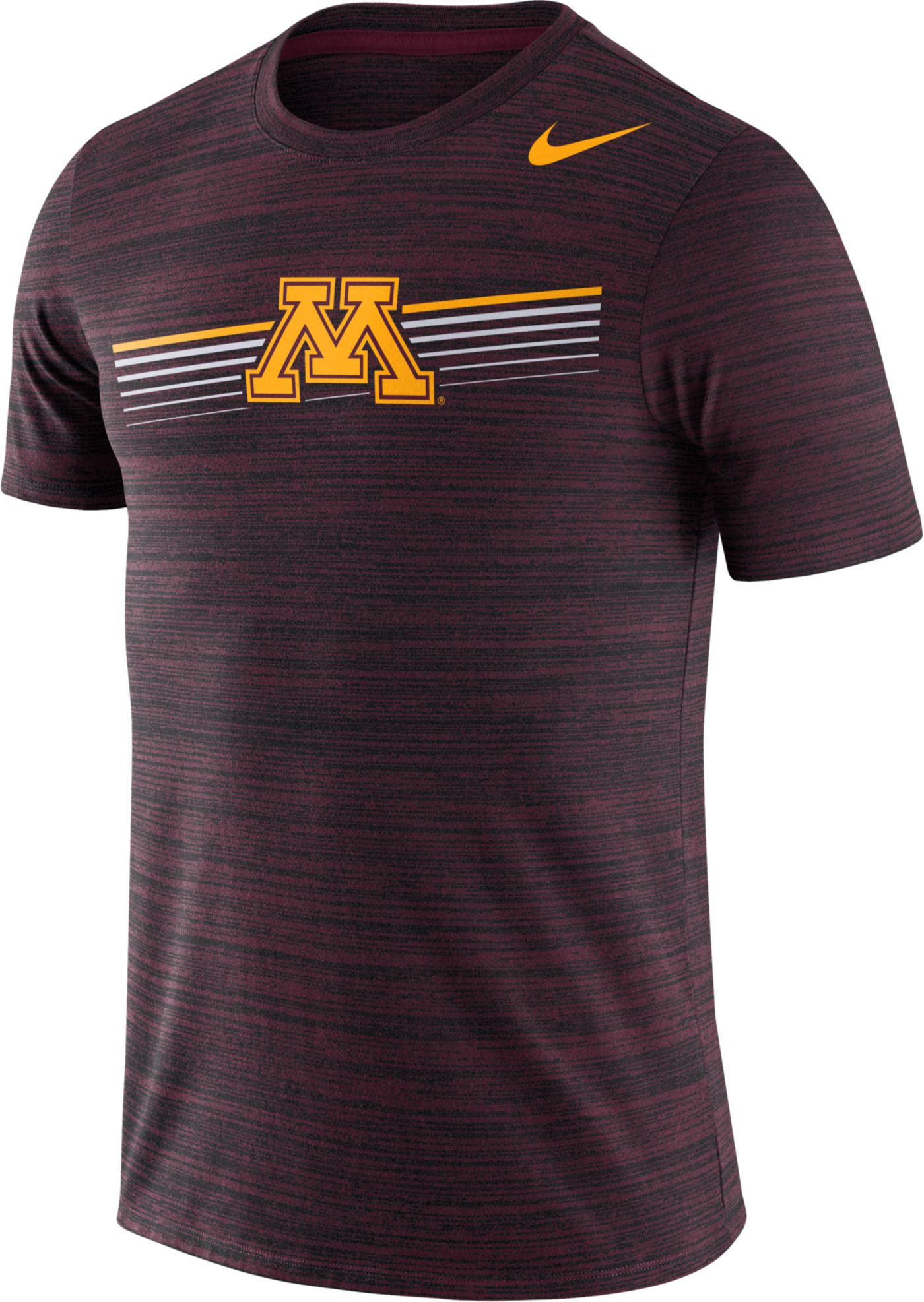 Nike Men's Minnesota Golden Gophers Maroon Velocity Legend Graphic T-Shirt